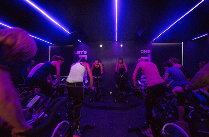 R1DE – Indoor Cycling Studio