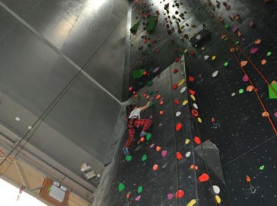 top rope 21 mtr leadwall
