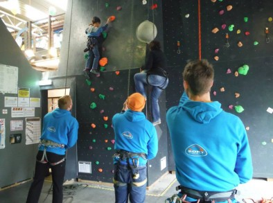 try the 21mtr leadwall on safe top rope